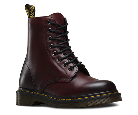 1f1a16796e20b5 DR. MARTENS PASCAL ANTIQUE TEMPERLY CR 8 EYE BOOT CHERRY RED 1460 ...